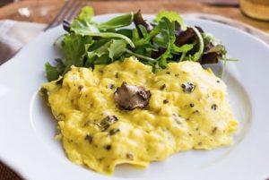 Omelette o Frittata al Tartufo Nero